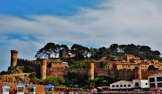 chateau_de_Tossa_lloret del mar visite