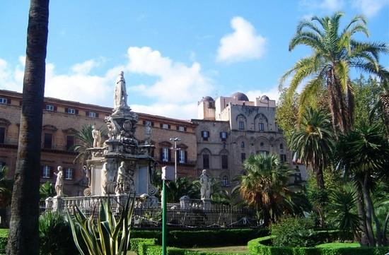 visiter palerme - palais des normands