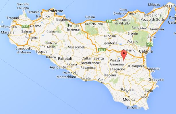 Carte Italie Villes