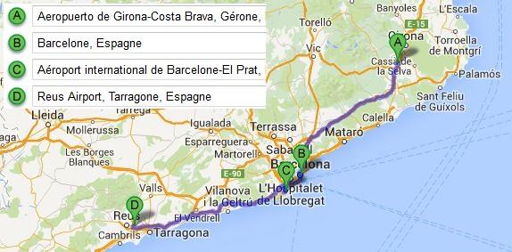 rejoindre-barcelone-depuis-aeroport