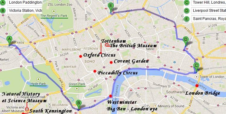 Visiter Londres en jours - Viree-Malin