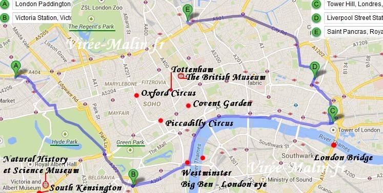 Gut gemocht Visiter Londres en 3 jours TK92