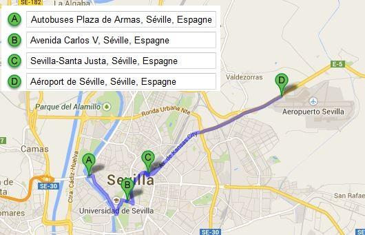 Aeroport Seville Bus Centre Ville