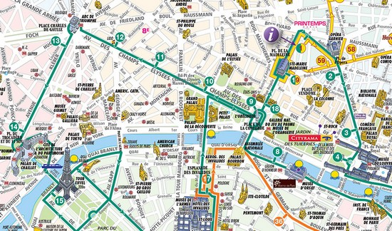 Le Centre Ville Paris Car Metros