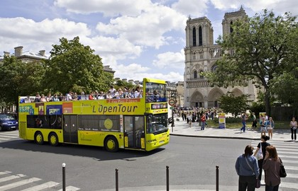 Billet bus touristique de Paris