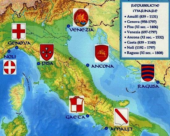 Republiques maritimes italienne