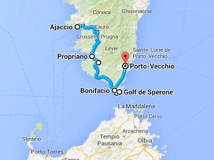 Distance Aeroport Ajaccio Centre Ville