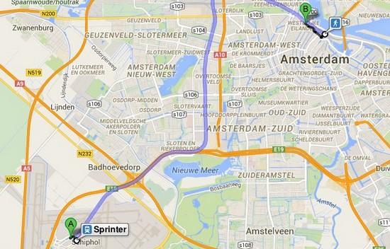 rejoindre-gare-amsterdam-depuis-aeroport