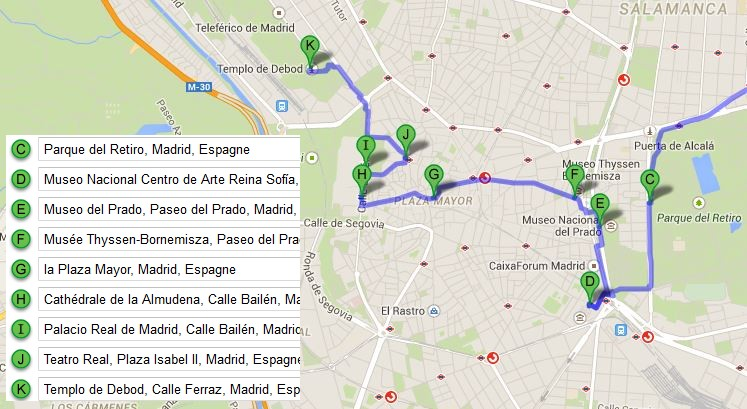 plan-visite-madrid-googlemap
