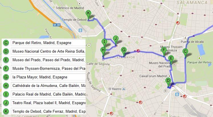 plan-visite-madrid-googlemap