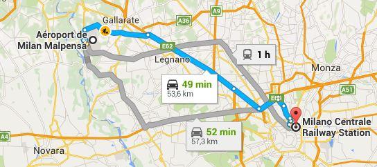 Aeroport Milan Proche Centre Ville