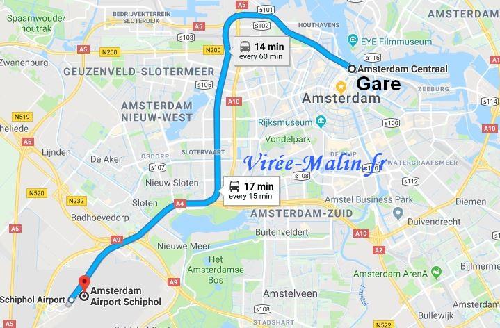 amsterdam-depuis-aeroport-Schiphol