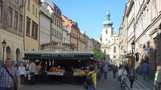 Marche-Havelska -Prague