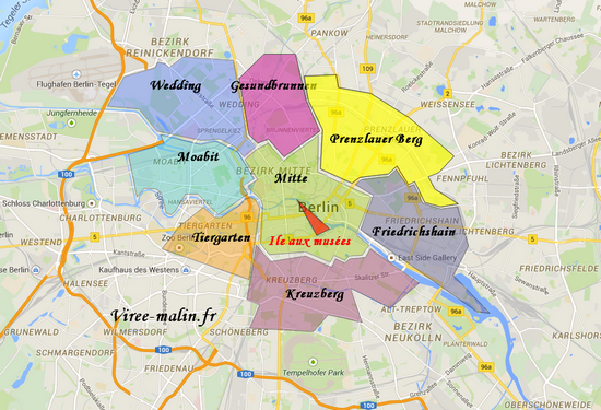 Visiter berlin en 3 jours - Carte amsterdam a imprimer ...