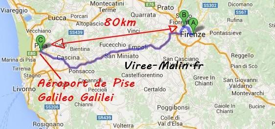 rejoindre-florence-depuis-aeroport-Galileo-Galilei