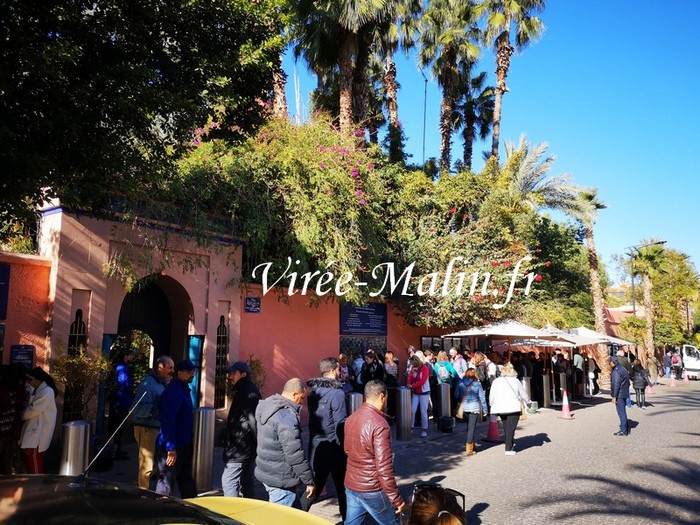 billet-coupe-file-jardin-majorelle-marrakech