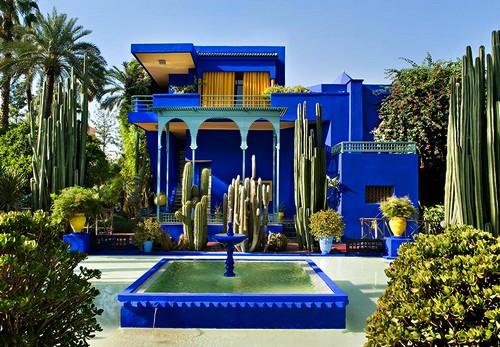 Visiter marrakech en 4 jours for Jardin hispano mauresque