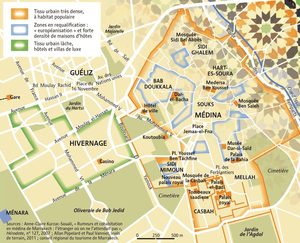 Visiter marrakech en 4 jours - Carte amsterdam a imprimer ...