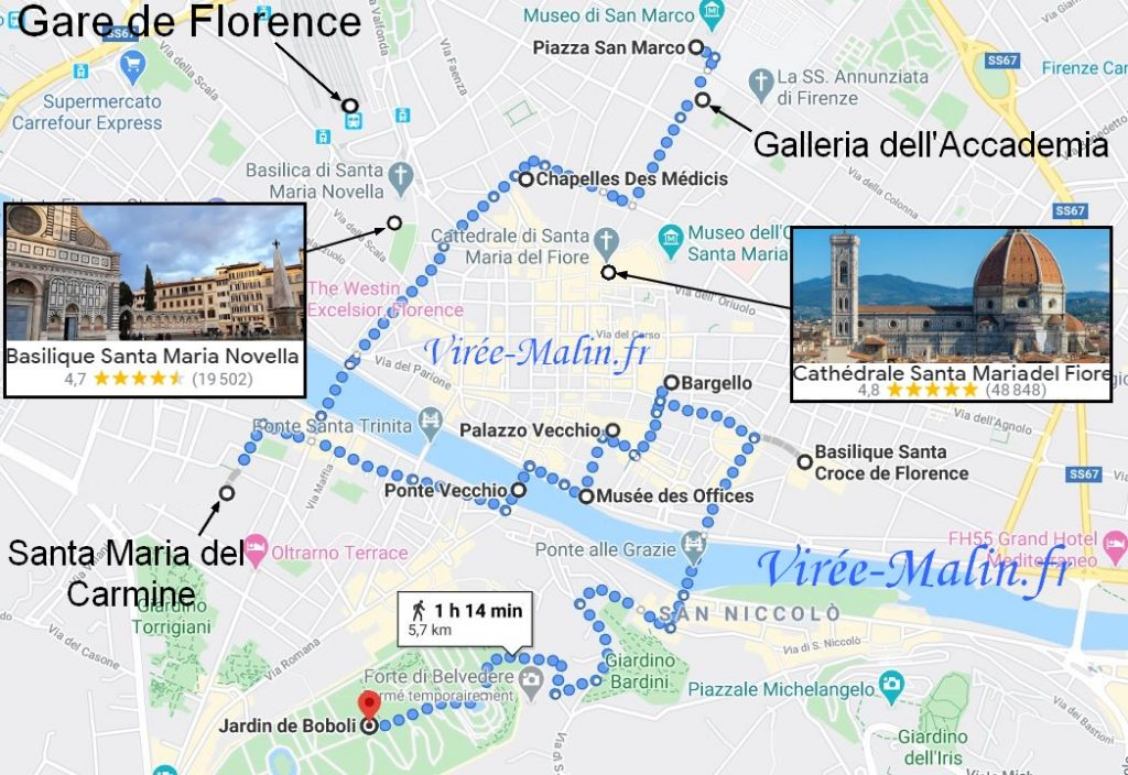 visite-incontournables-florence-carte-google