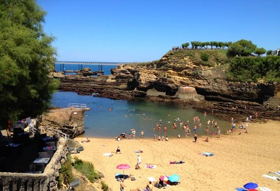 Visiter biarritz en 2 jours - La plage parisienne port de javel haut ...