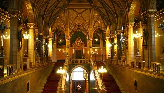 visiter parlement budapest