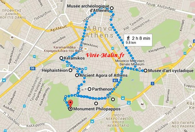 visiter-athenes-4-jours-plan