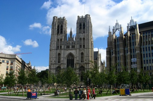 Cathedrale-Saints-Michel-et-Gudule-bruxelles