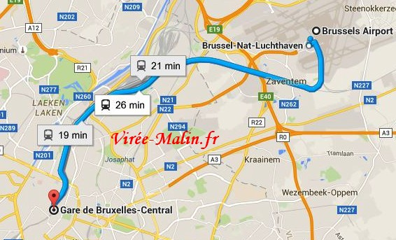rejoindre-centre-ville-bruxelles-depuis-aeroport