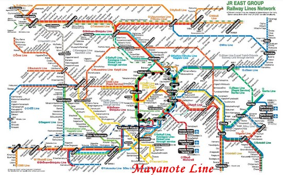plan-metro-japon-yamanote-line