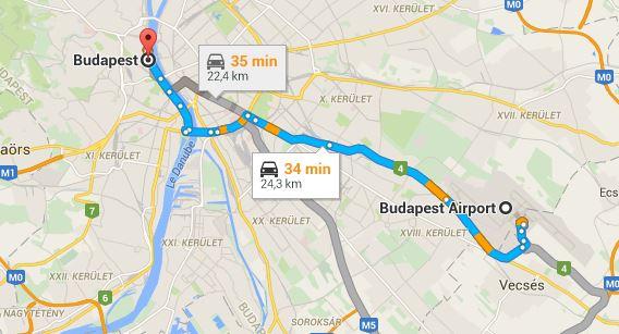 rejoindre-budapest-depuis-aeroport-bud