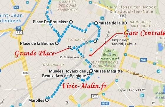 visite-bruxelles-plan-googlemap