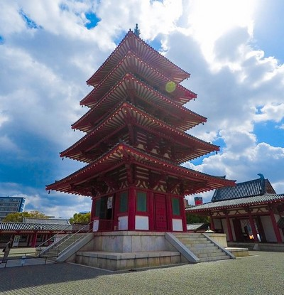 visiter-Shi-Tenno-ji-temple-Osaka