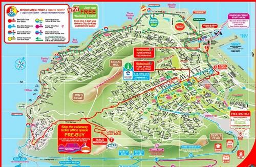 Cap-town-map-visite-bus