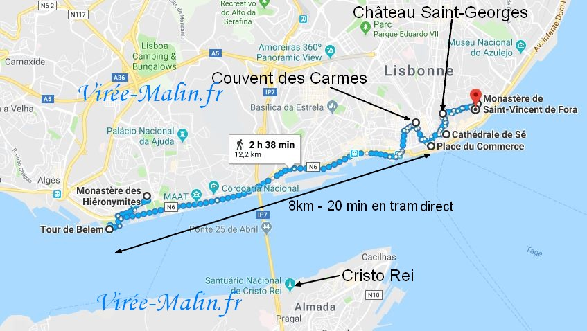 google-map-plan-lisbonne