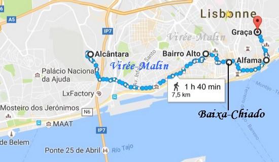 Itineraire Maps Eviter Centre Ville