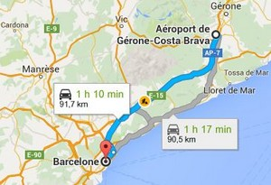 Transfert-Aeroport-Gérone-Barcelone
