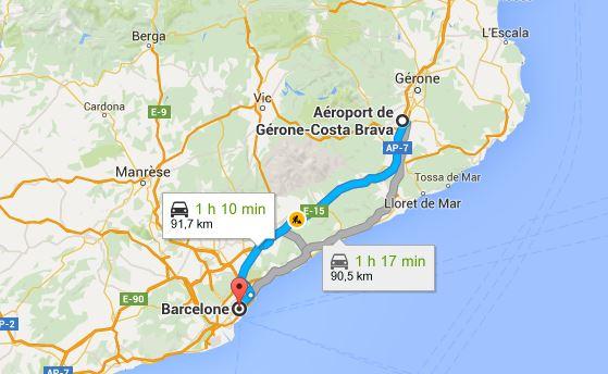 Aeroport Barcelone A Centre Ville