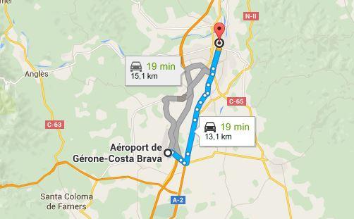 rejoindre-gare-gerone-depuis-aeroport-gerone