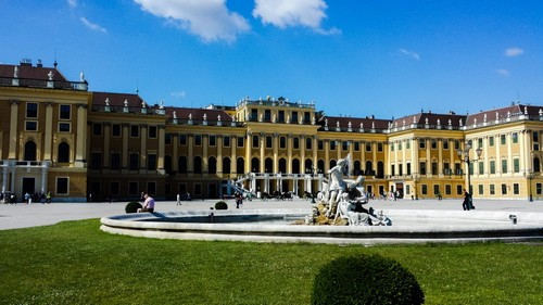 chateau-de-Schonbrunn-vienne