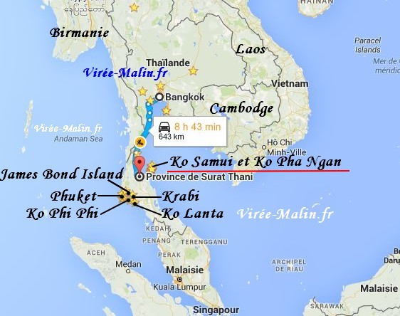 visiter-ko-phangan-map