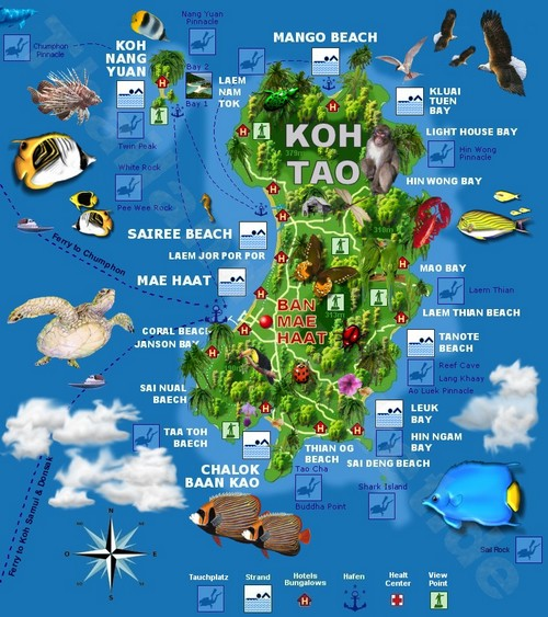 visiter-koh-tao-carte