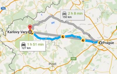 visite à Karlovy Vary