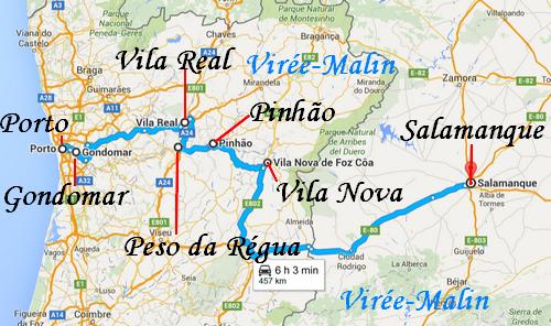 rejoindre-salamanque-depuis-porto-parcours-vallee-douro