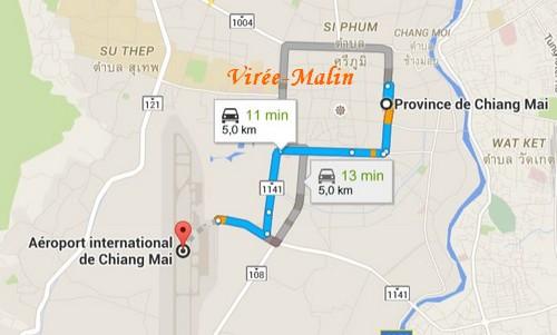 transfert-aeroport-centre-ville-chiang-mai