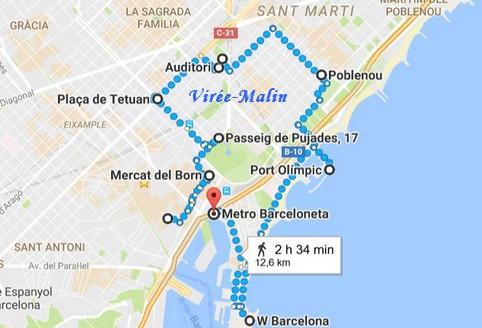 itineraire-velo-barcelone