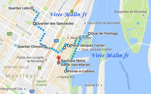 plan-route-visiter-montreal-googlemap