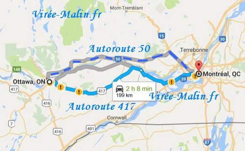 rejoindre-ottawa-depuis-montreal