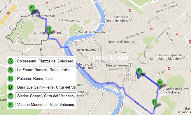 googlemap-rome-city-pass