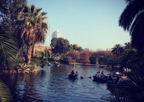 parc-Ciudadela-lac-barcelone