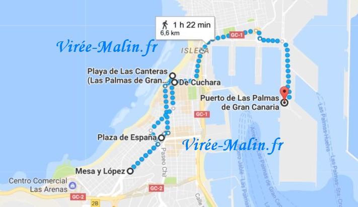 googlemap-palmas-canarie-plage-port